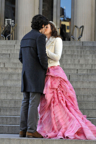 Set foto of Blair & Dan