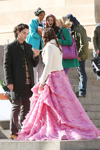 Set Photos of Blair & Dan