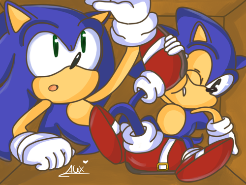 Sonic's in a box