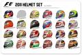 2011 Driver Helmets