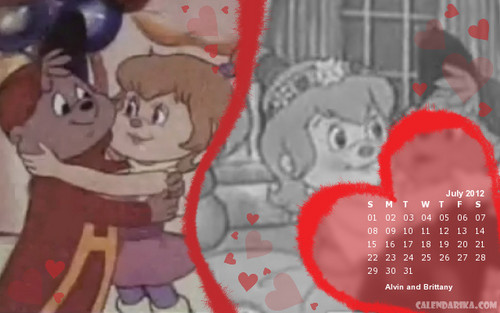 2012 AATC calendar that I made - alvin-and-the-chipmunks Photo