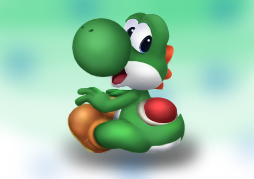 Yoshi images 3D yoshi wallpaper and background photos