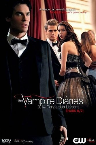 The Vampire Diaries TV Show wallpaper called 3x14 Damon Elena Stefan