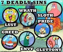 7 Deadly Sins,Spongebob