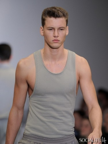 Alfred Kovac Modeling Photos