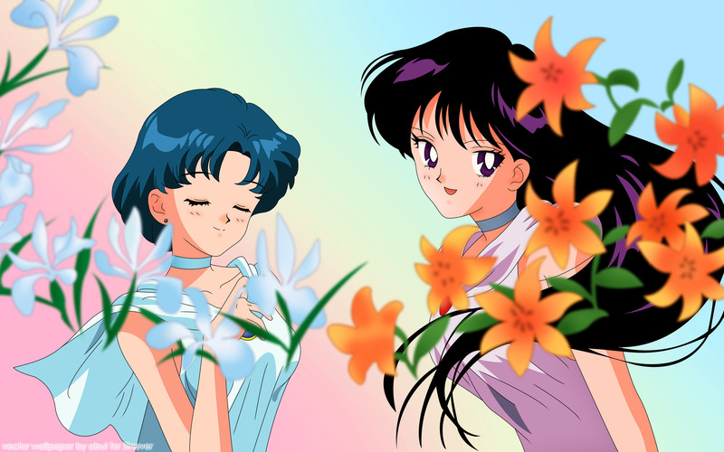 Sailor Moon Ami and Rei