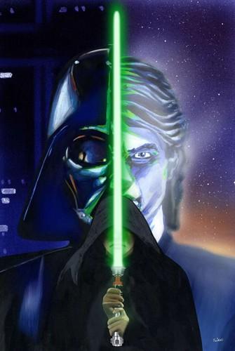 Anakin/Luke Saber
