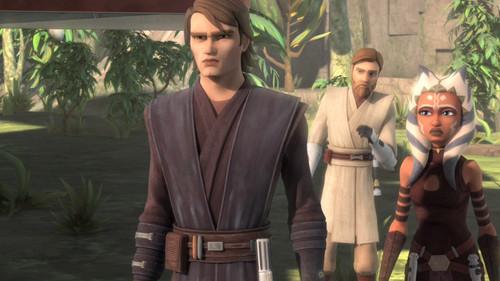 Anakin and Ahsoka