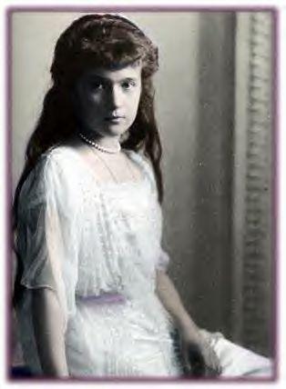 Anastasiya Nikolayevna Romanova) (June 18 [O.S. June 5] 1901 – July 17, 1918)