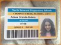 Ariana's Old 8th Grade School ID