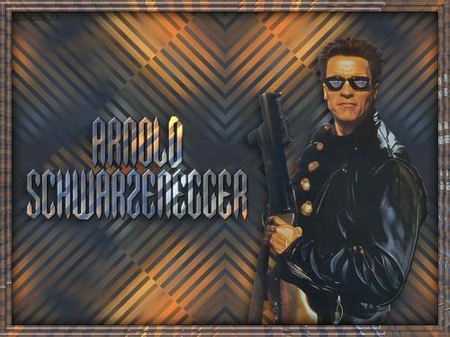 Arnold Schwarzenegger karatasi la kupamba ukuta