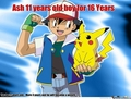 Ash doesn't age - ash-ketchum photo