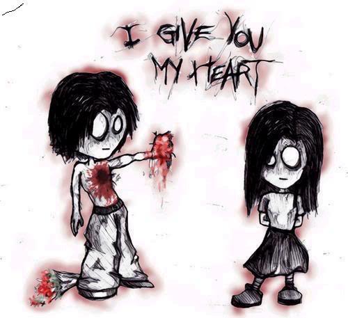 Awkward emo cinta