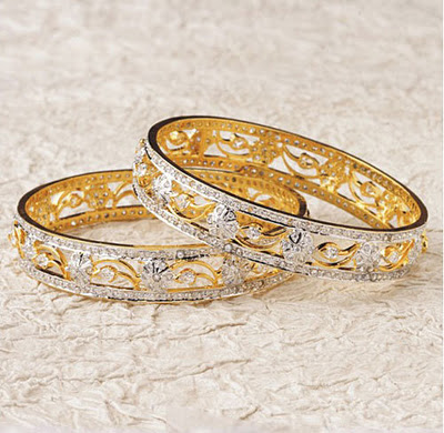 Gold Bangles Designs in Pakistan