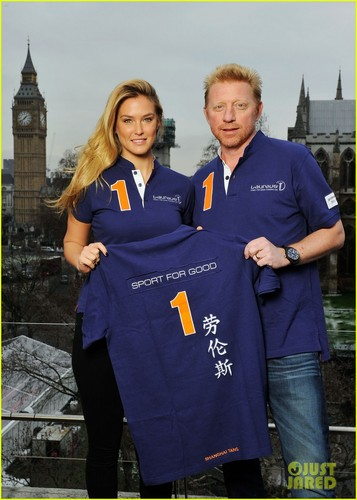 Bar Refaeli & Boris Becker Team Up for litrato Shoot