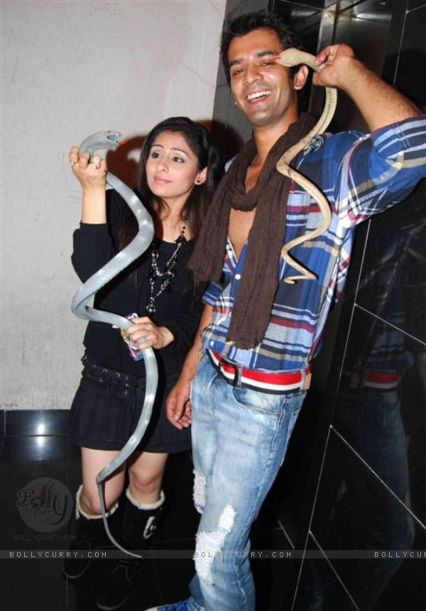 Barun Sobti Barun Sobti and Ankita Sharma