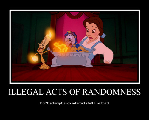 Belle Motivational Poster