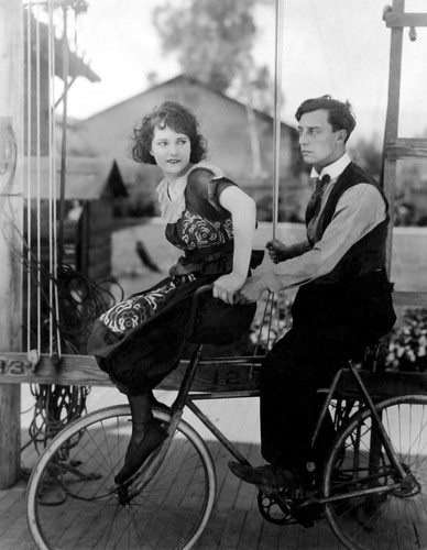 Buster Keaton and Sybil Seely