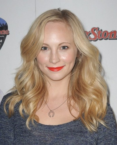 Candice Accola at The Rolling Stone Volkswagen Rock & Roll Fan Tailgate Party, February 5, 2012