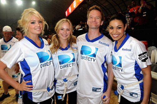 Candice at DIRECTV's Sixth Annual Celebrity strand Bowl