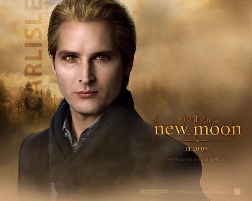 New Moon Movie wallpaper probably containing a portrait called Carlisle