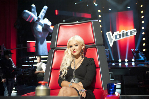 Christina- The Voice - christina-aguilera Photo
