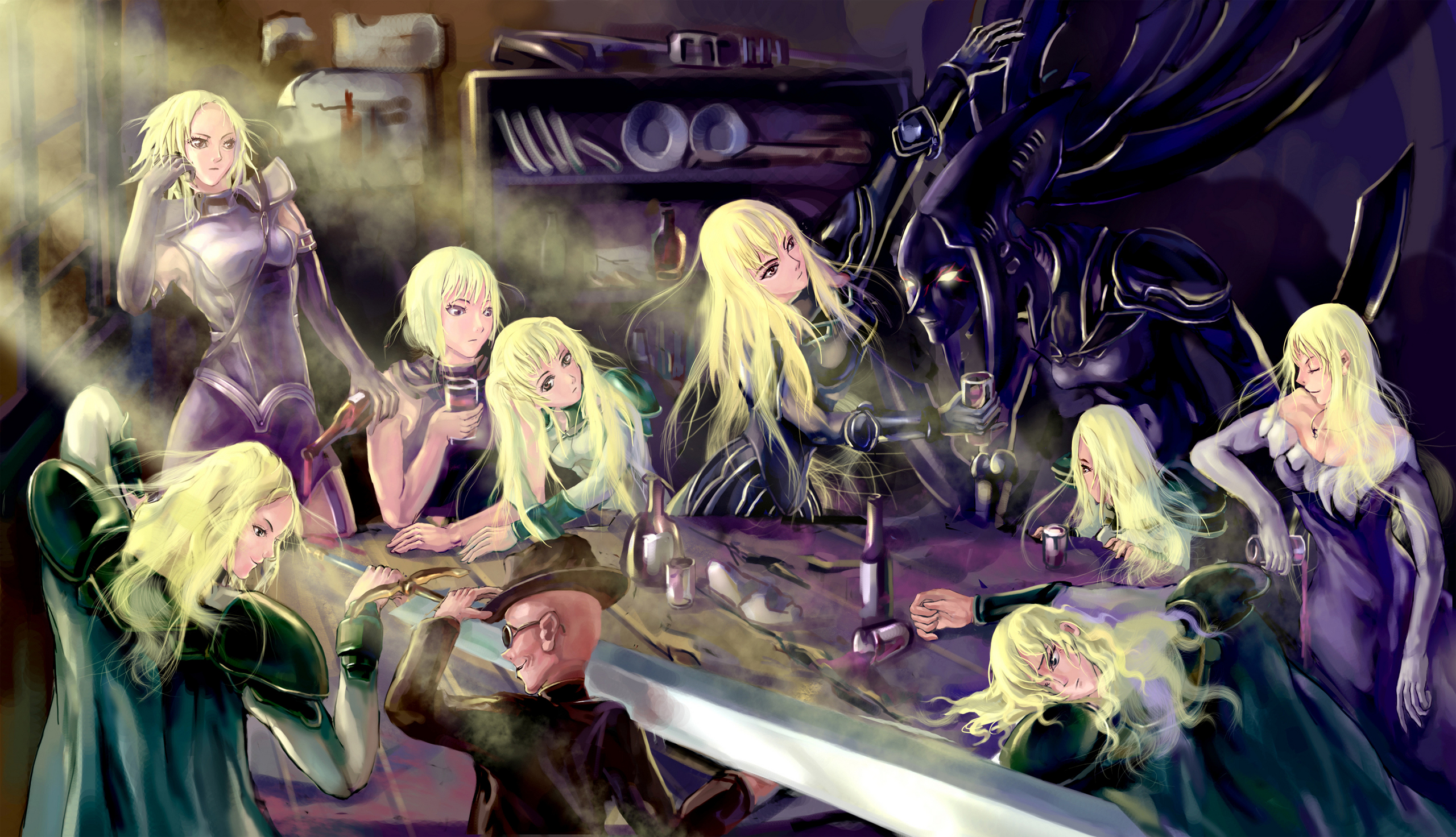 Riful - Claymore New Wiki - Claymore, Clare, characters ...