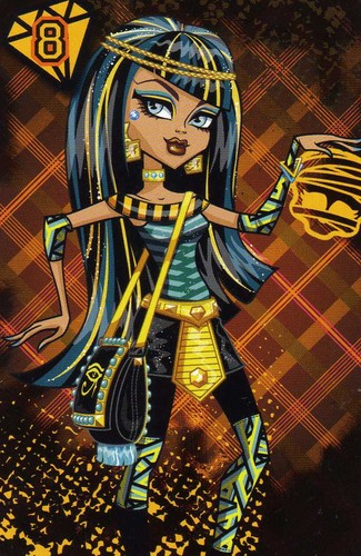 Monster High karatasi la kupamba ukuta containing anime called Cleo De Nile