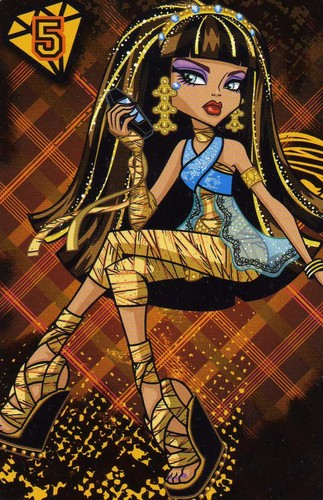 Monster High wallpaper with anime entitled Cleo De Nile