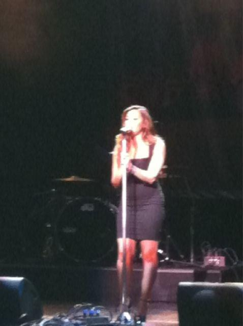 Demi Performed at Perez Hilton's One Night Party