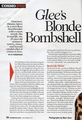 Dianna Agron Cosmopolitan interview pg. 1