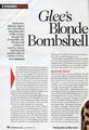 Dianna Agron Cosmopolitan interview pg. 1