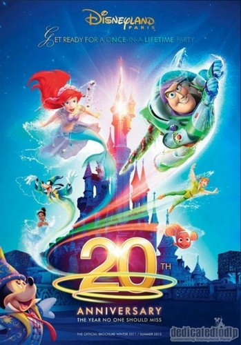 Disneyland Resort, Paris - 20th Anniversary Brochure
