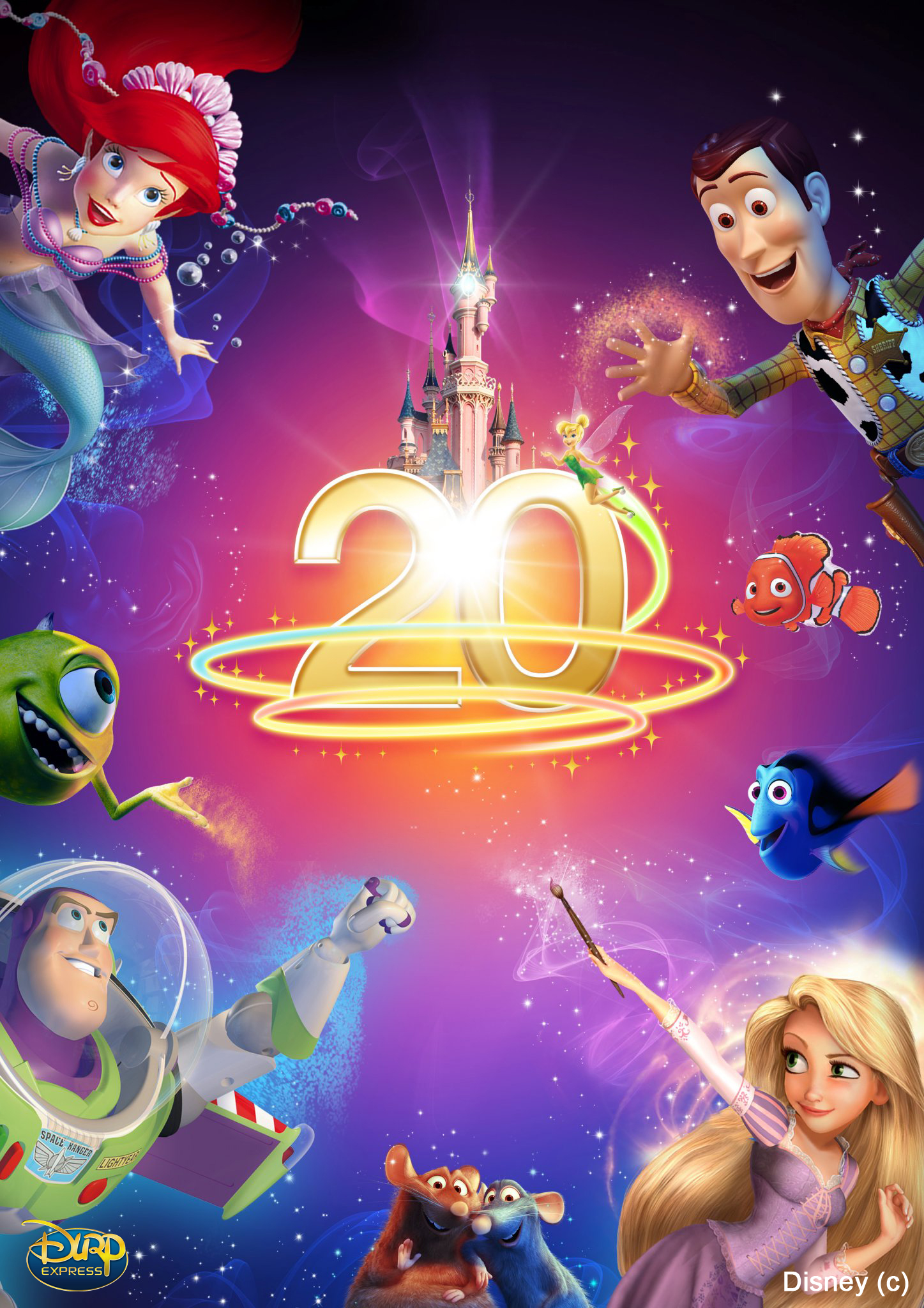 Disneyland Resort Paris - 20th Anniversary