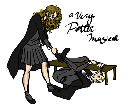 Draco and Hermione - a-very-potter-musical Photo