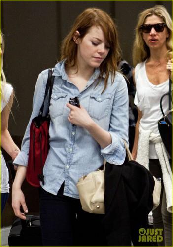 Emma Stone Heads to Rio