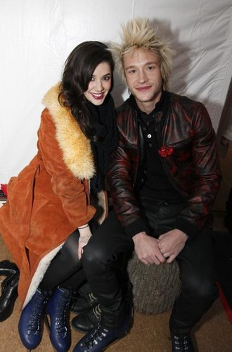Erica Dasher & Nick Roux at Winter Wonderland