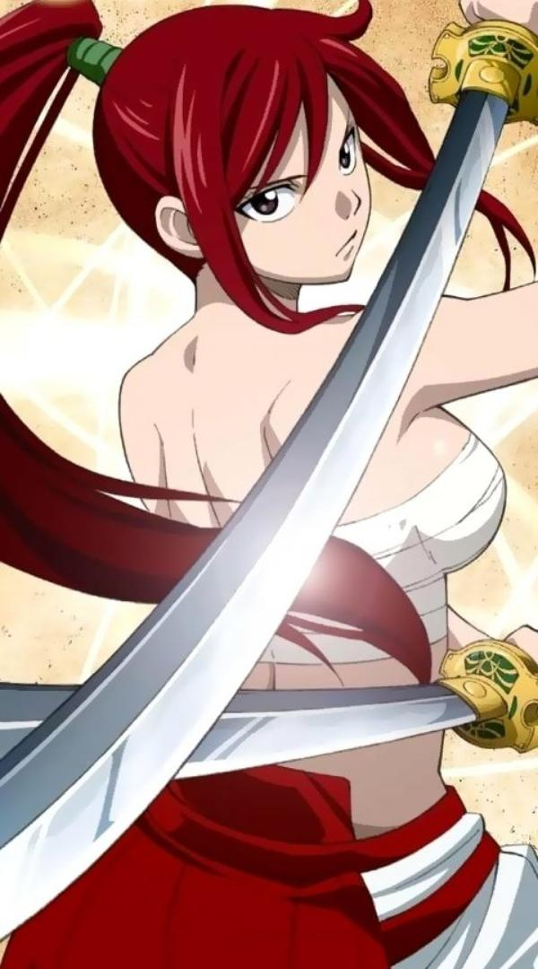Fairy Tail: Erza Scarlet - Wallpaper Actress