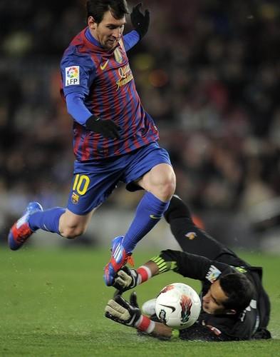 FC Barcelona (2) v Real Sociedad (1) - La Liga [Round 22]