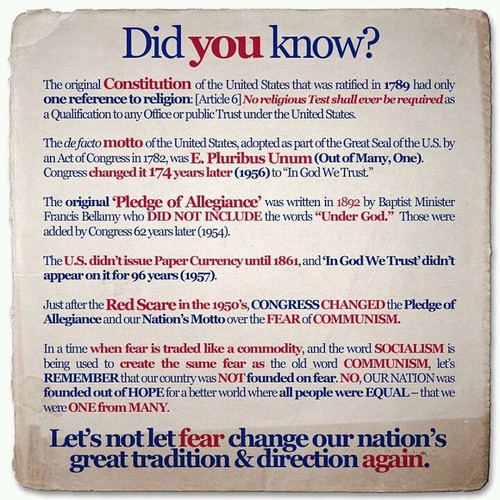 Facts About the US Constitution
