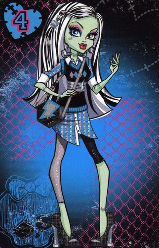 Monster High wallpaper with anime entitled Frankie Stein