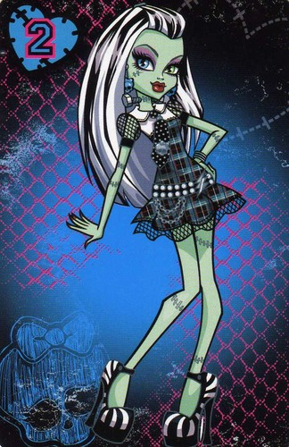 Monster High hình nền containing anime called Frankie Stein