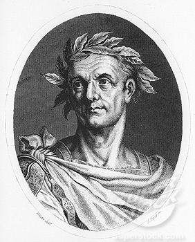 Gaius Julius Caesar (13 July 100 BC – 15 March 44 BC)