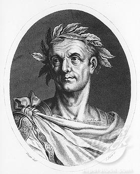 Gaius Julius Caesar (13 July 100 BC – 15 March 44 BC)