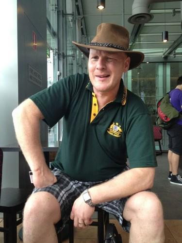 George in Australia (aka Mick Dundee) via Keith Harkin