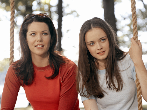 Gilmore Girls fond d'écran possibly with a portrait entitled Gilmore Girls