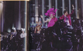 Glimmer and Marvel chariot ride - the-hunger-games-movie photo