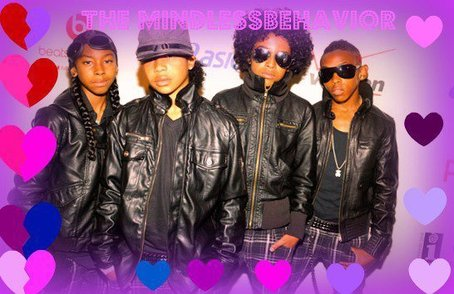 Ray Ray (Mindless Behavior) wallpaper titled HEART MINDLESS BEHAVIOR