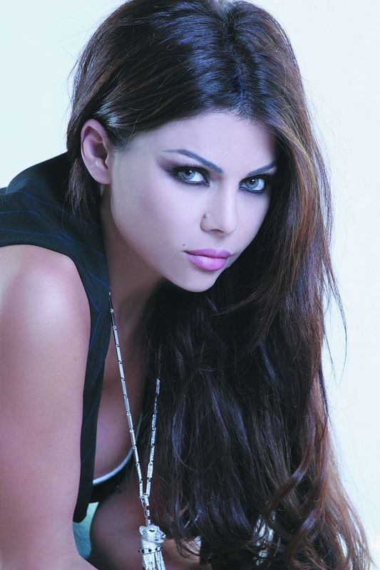 Haifa Wehbes Leaked Cell Phone Pictures