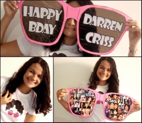 Happy Birthday Darren Criss ♥